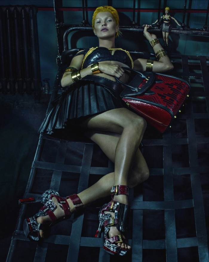 Kate Moss Poses For Alexander McQueen SS2014 - 7
